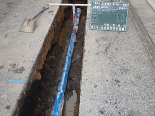 配水管布設替工事(市道80037号線外)